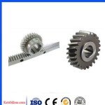 Helical Gear And Rack With Steel Material
