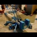 Liebherr LG 1550 Assembly Timelapse