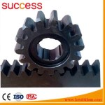 Machinery Pinion Gears Ring For Concrete Mixer & Crown Gear Wheels / Stainless Steel Teething Ring