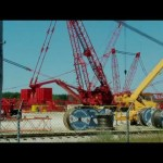 manitowoc 31000s and other cranes in the yard
