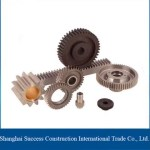 Rack And Pinion Steering Gear / Electric Worm Gear Winch