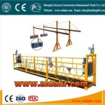 suspended platform work