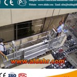 Suspended platform/Swing stage/Scaffold work