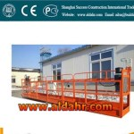 Swinging Steel Wire Rope Suspended Platform/Adjustable Height Construction Work Platform