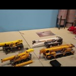 Unboxing 4 cranes! Demag ac250, lrt1100, ltc1045, and grt8100