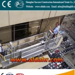 window cleaning suspended platform aerial working platform