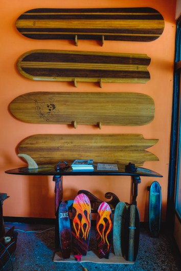 Giovanni's Alaia boards (by Guang-Hui Chuan of GSquaredTravel)