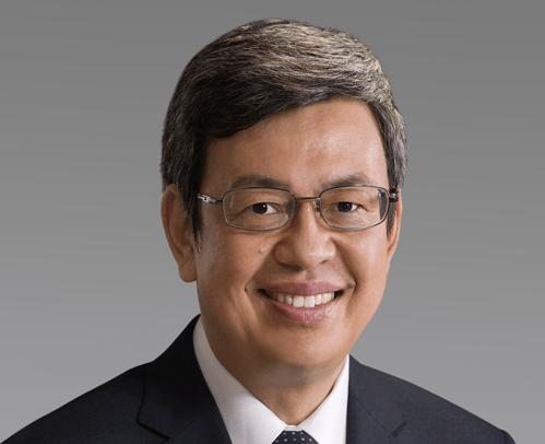 Taiwan's Vice President Chen Chien-jen