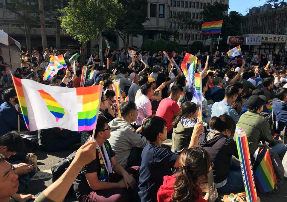 Taiwan's Constitutional Court Weighs in on Marriage Equality
