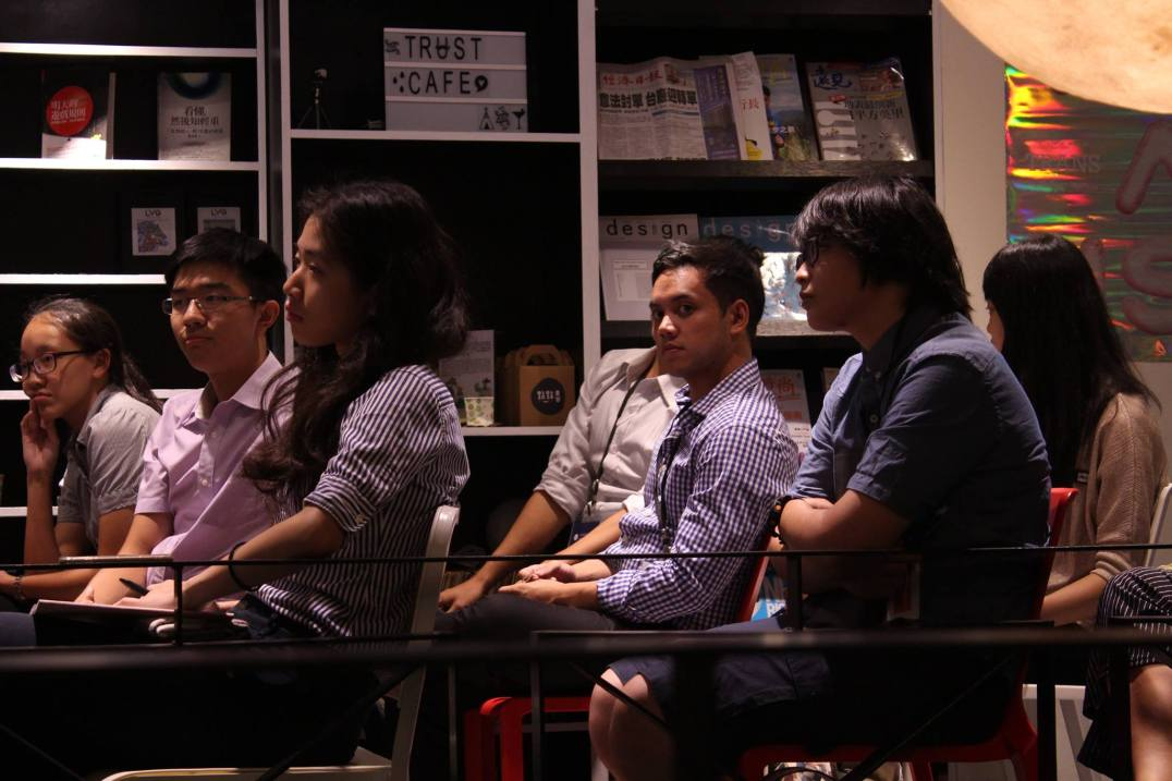 TASC delegates at a session (from TASC's Facebook page)