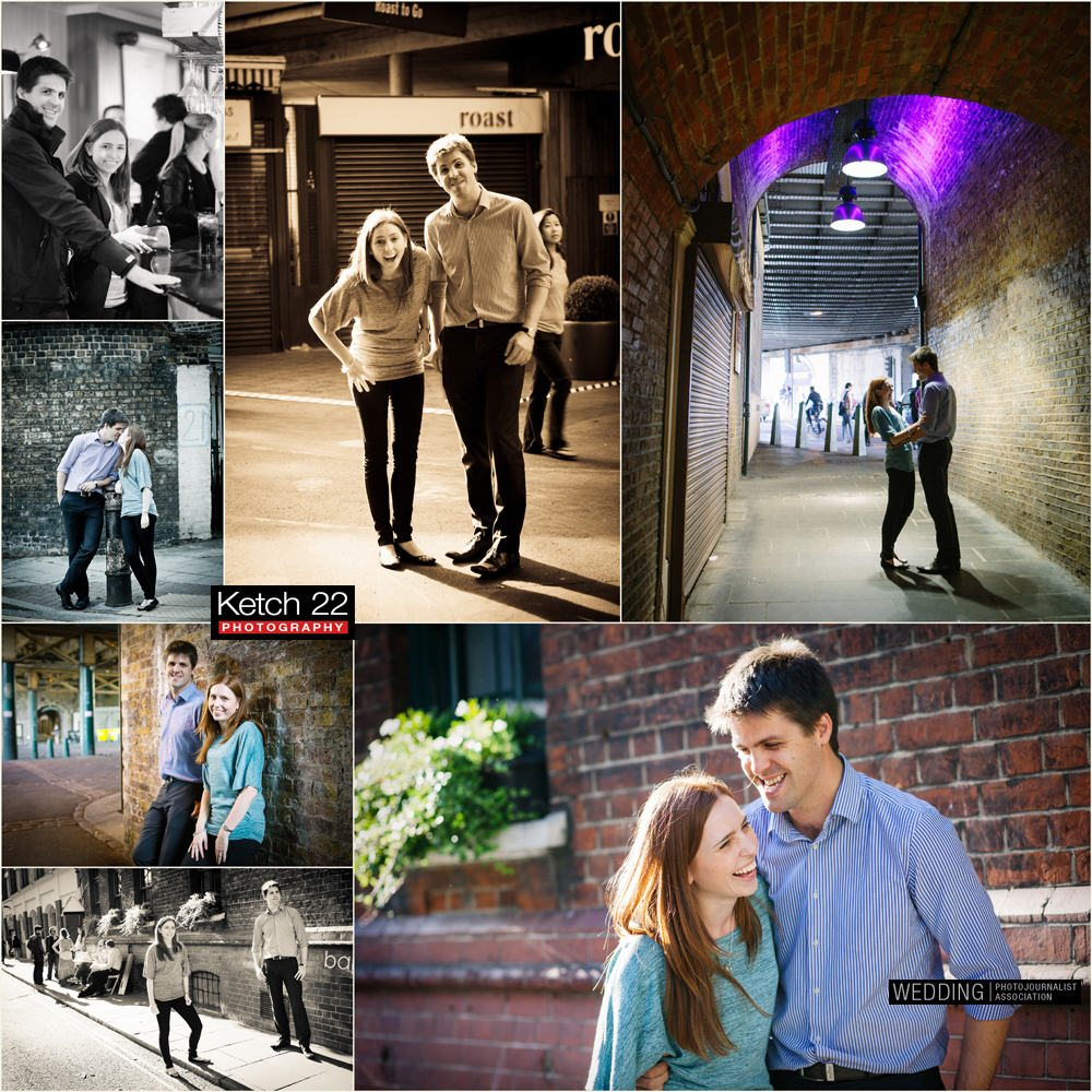 Borough Market - Pre wedding shoot