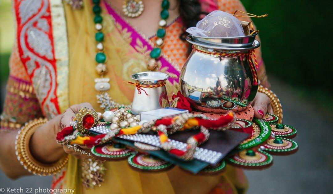 Wedding details at Hindu wedding