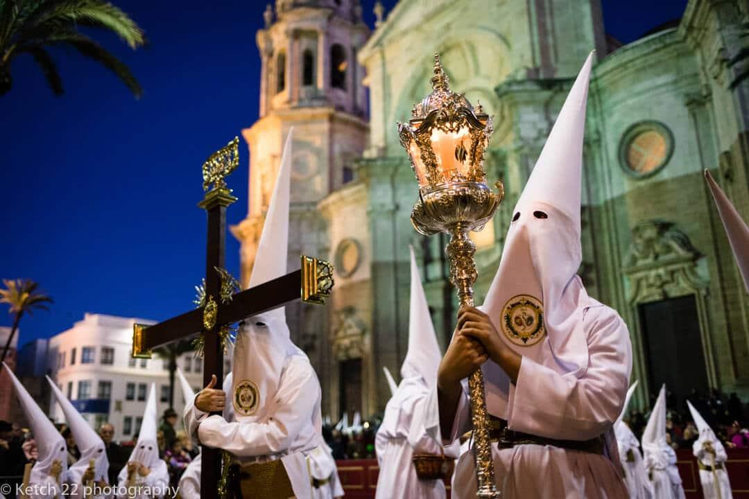 Semana Santa festival in Cadiz