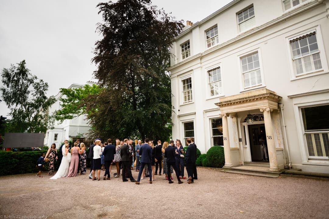 Guests at No 38 wedding Cheltenham