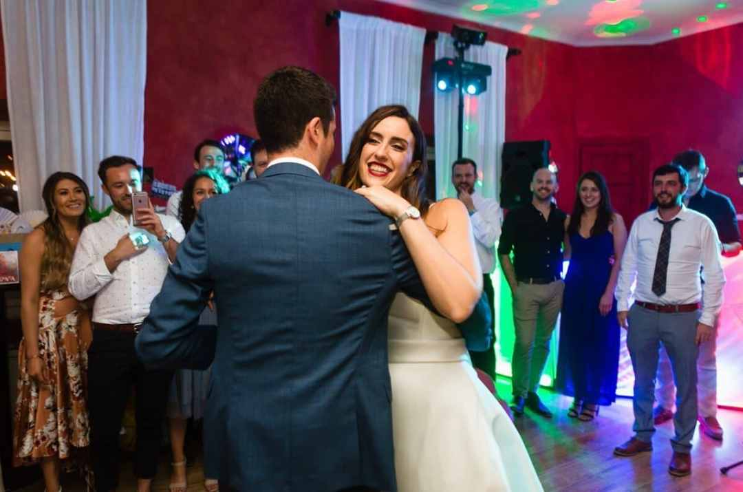 First dance at Wedding receptiom