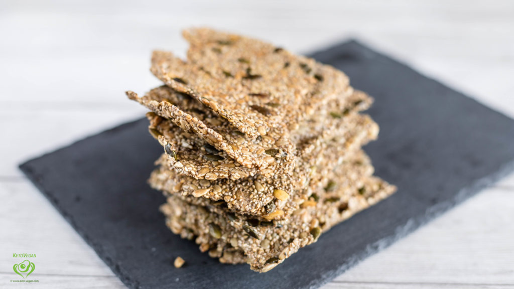 Perfect Keto-Vegan Crisp Bread