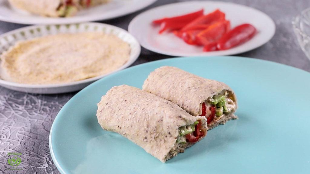Gluten-Free Keto-Vegan Tortilla