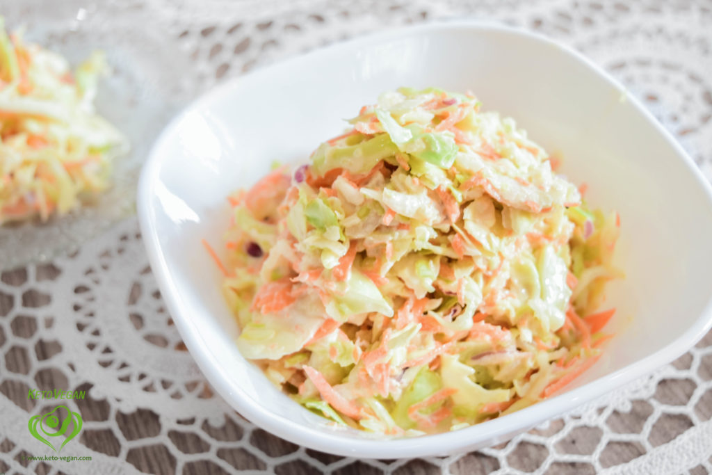 Ready salad | keto-vegan.com