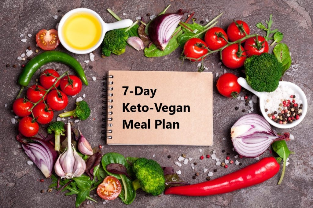 vegetarian keto meal plan | keto-vegan.com