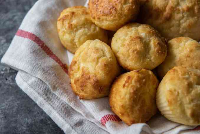 keto side dish of biscuits
