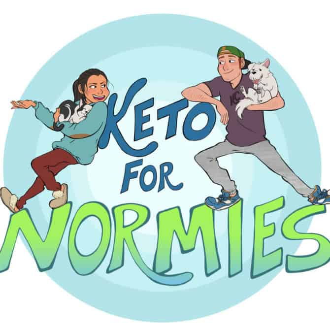 keto for normies podcast with ketoconnect