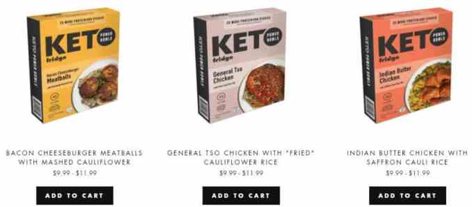 boxed meals from keto fridge