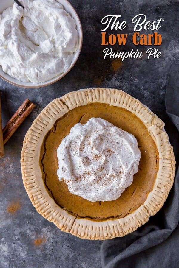 low carb pumpkin pie recipe