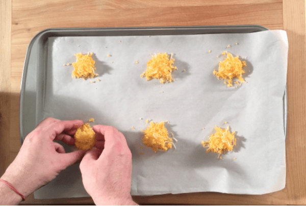 Cheese Crisps for Keto Nachos