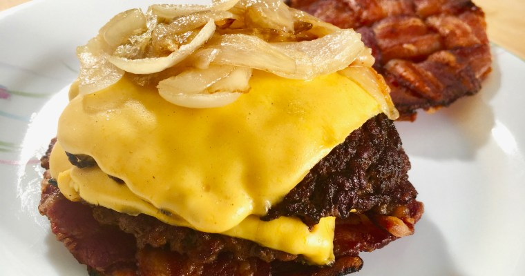 Ultimate Keto Burger | The Bacon Smash Burger