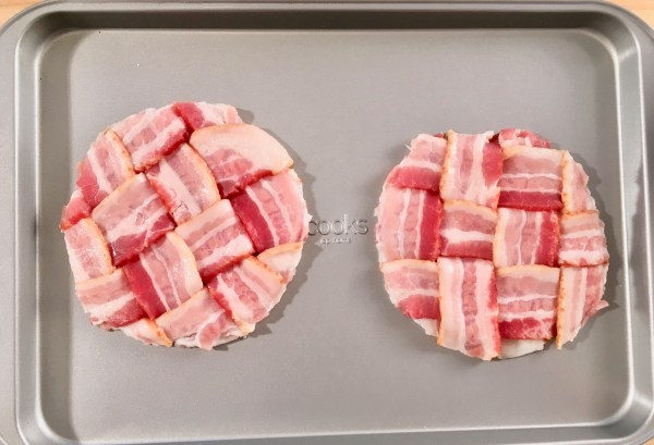 bacon weave bun