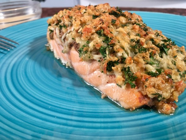 Parmesan Crusted Salmon