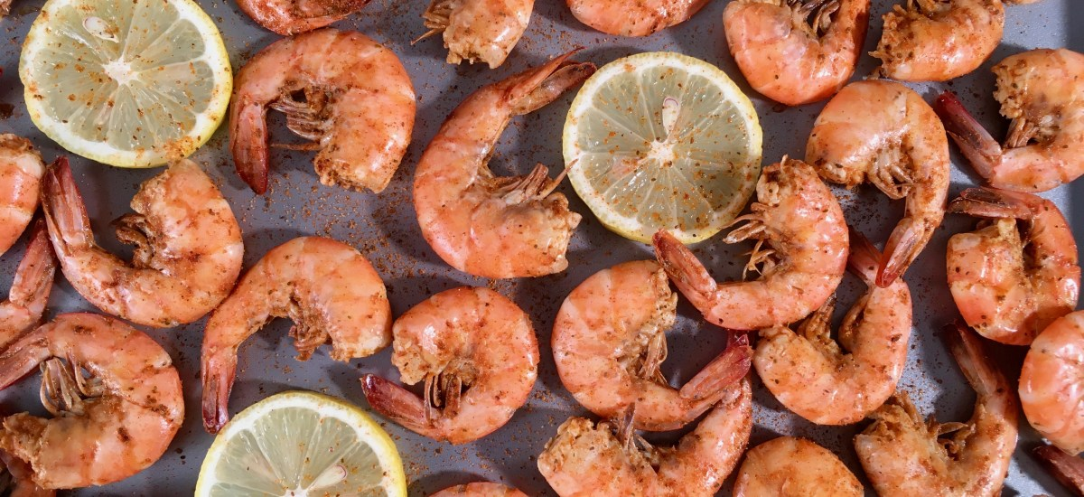 Keto Old Bay Shrimp