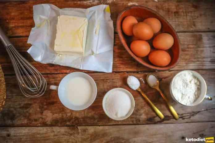 crepe ingredients