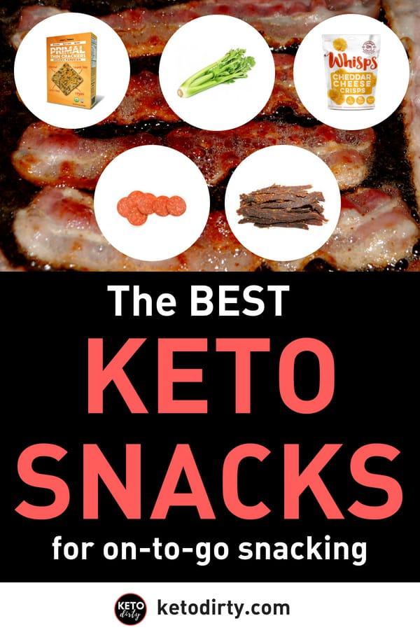Keto Diet Snacks - Best Low Carb Treats