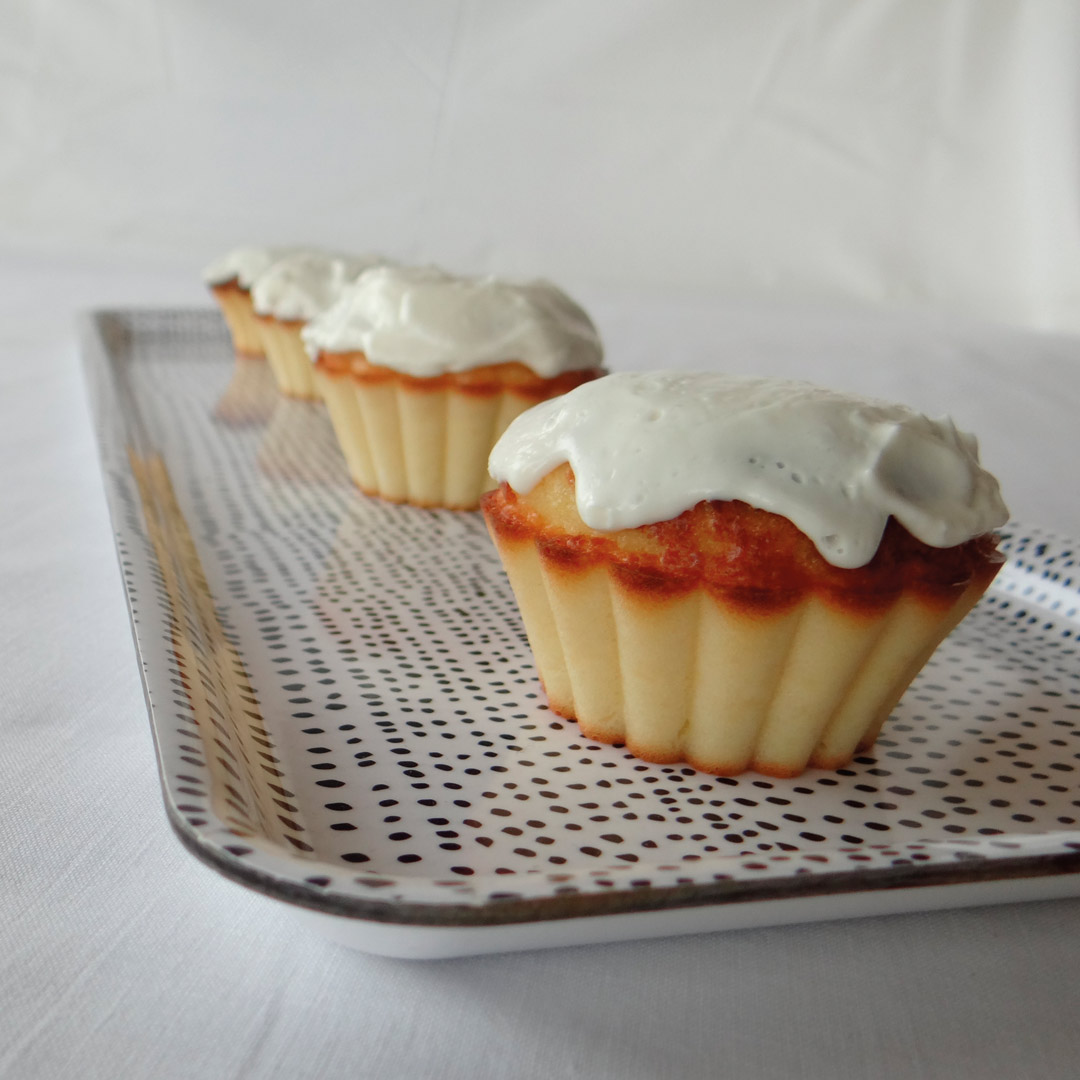 citroen muffin cake recept