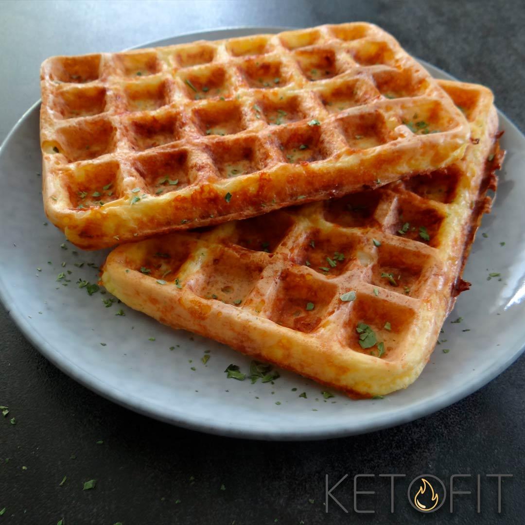 Recept voor keto chaffles