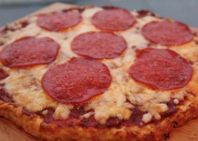 Keto bloemkool pizza