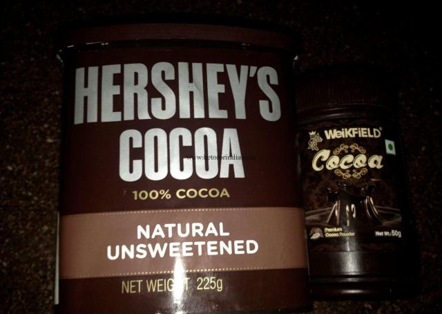 Hershey's cocoa low carb food