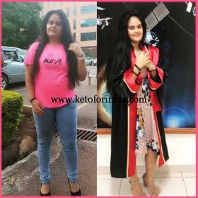 Aarushi Keto Transformation Story Keto For India