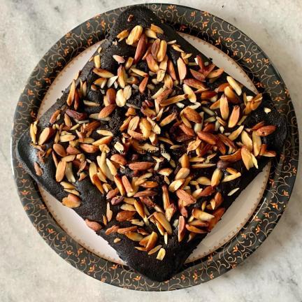 Keto Dark Chocolate Almond Flour Cake