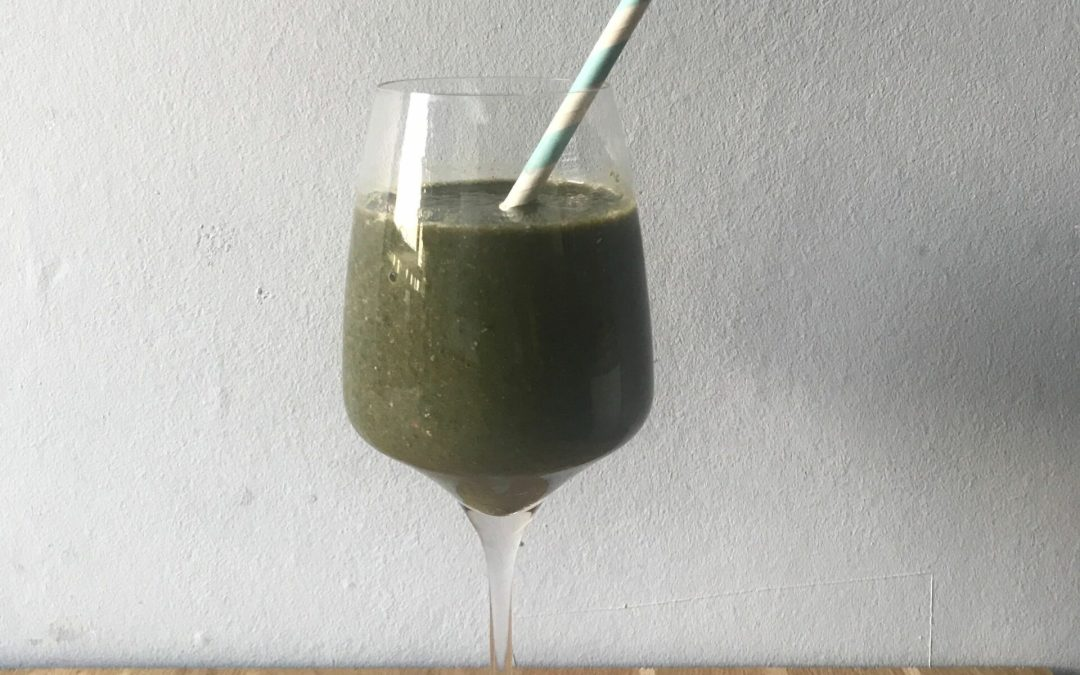 Recept: de snelste spinazie smoothie