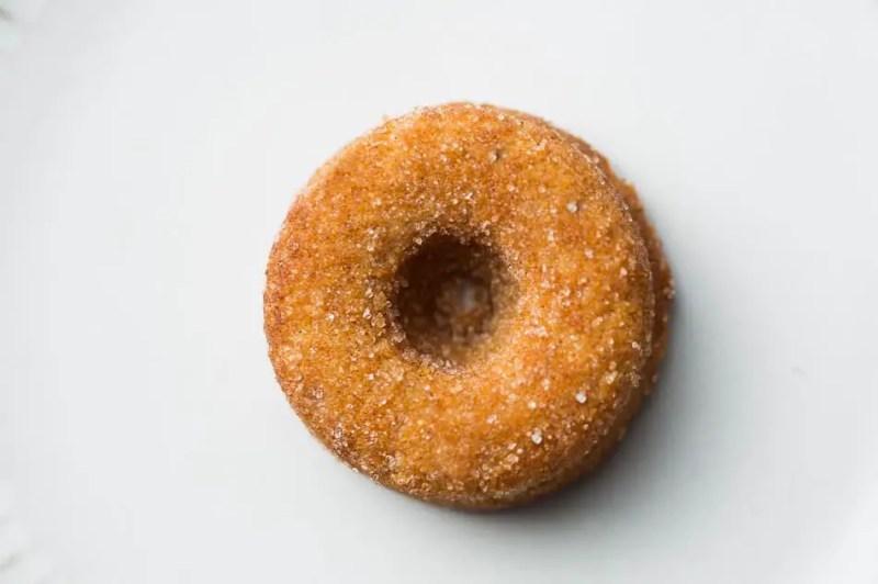 Gezonde donuts maken eindresultaat