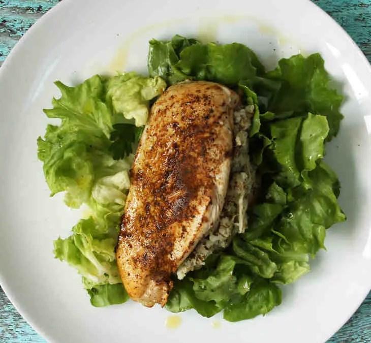 Gevulde kipfilet: eenvoudig keto recept