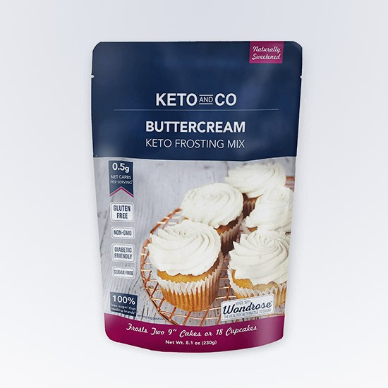Buttercream Frosting Mix