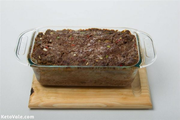 Baking meatloaf in the oven