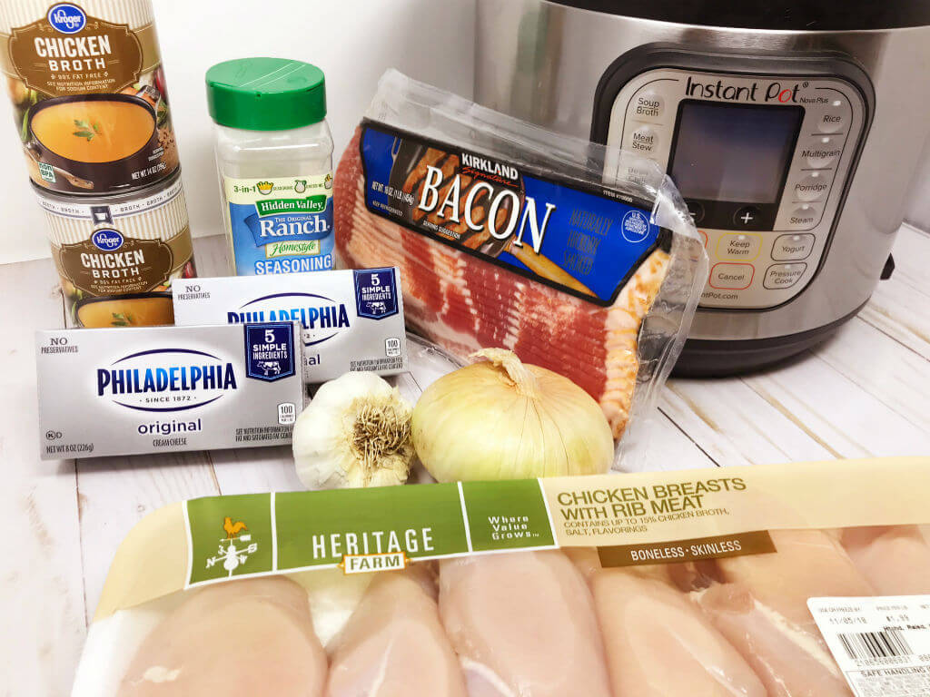 Keto Crack Chicken Ingredients