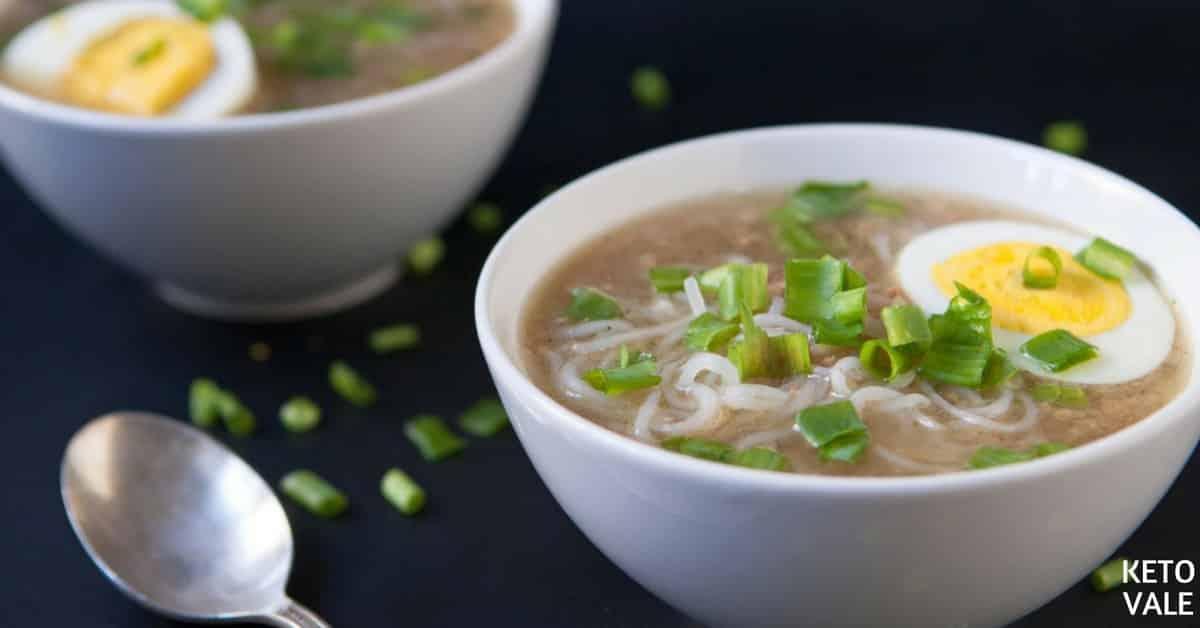 Beef Shirataki Noodle Soup