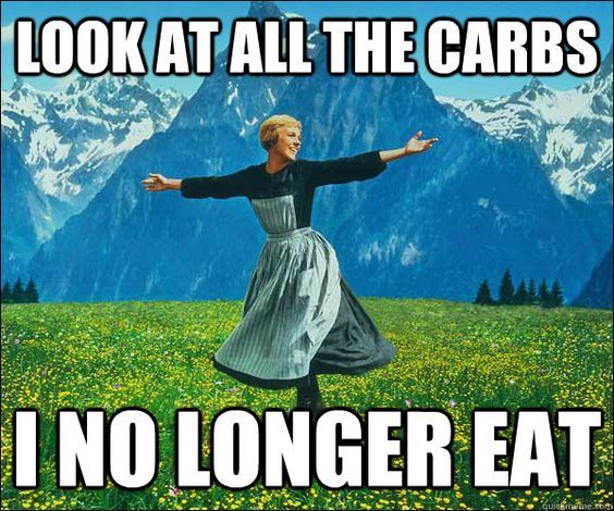 Look At All All The Carbs I No Longer Eat