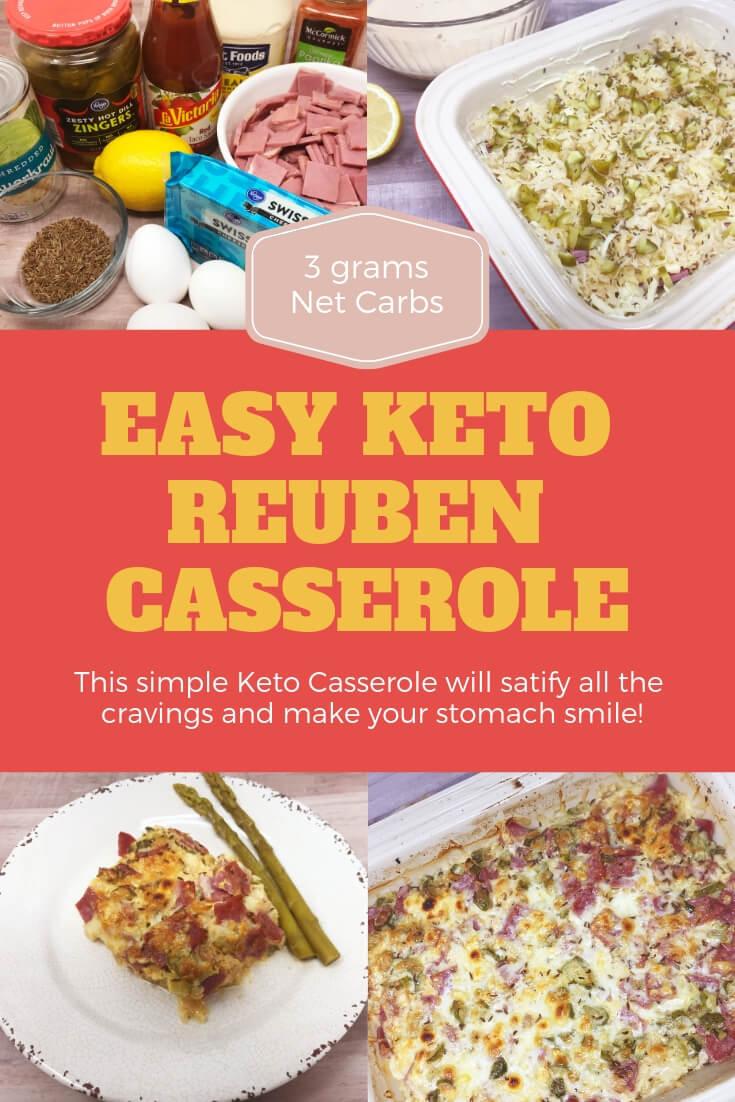 Easy Keto Reuben Casserole Recipe