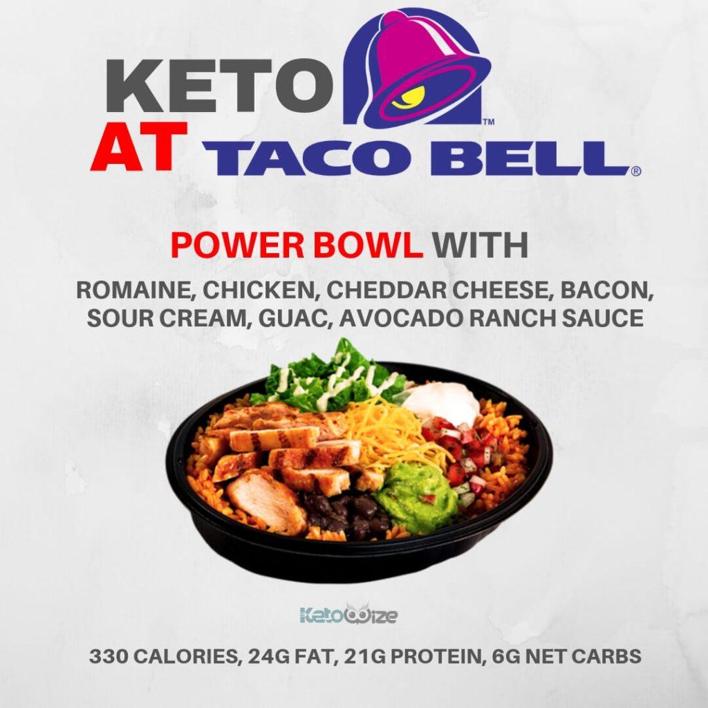 Keto At Taco Bell Power Bowl